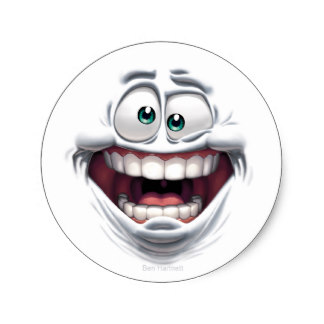 crazy_cartoon_smile_classic_round_sticker-rf739940c045f4ae1b9a6cff4f48c95e7_v9waf_8byvr_324