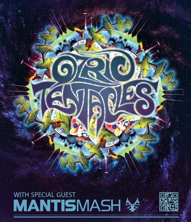 Ozric Tentacles poster