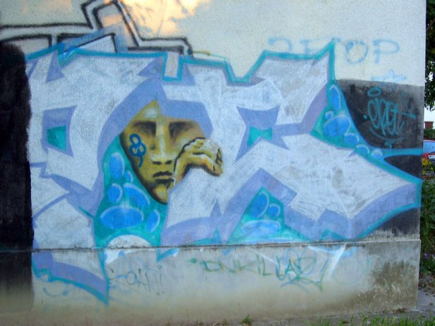 graffiti-autoportret