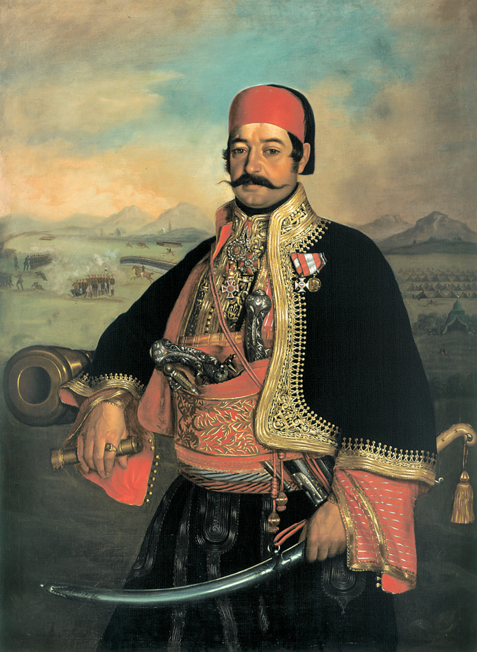 Vojvoda Knićanin,slika Uroša Knežwvića