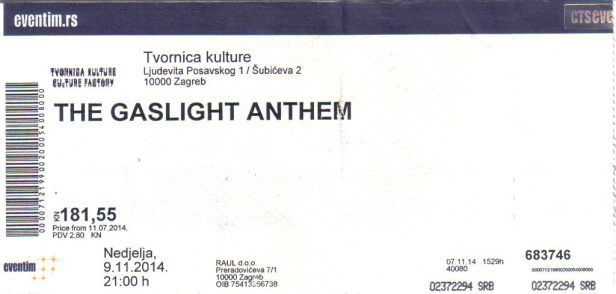 The Gaslight Anthem (1)