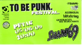 To Be Punk 2009
