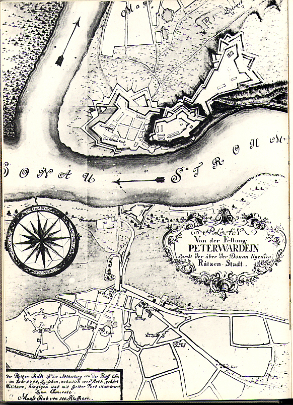 Mapa-Petrovaradin-i-Novi-Sad