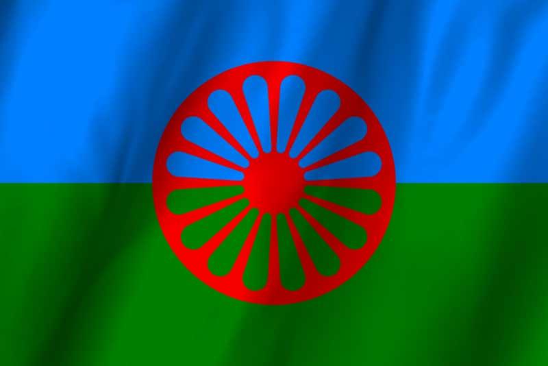 cygańska flaga