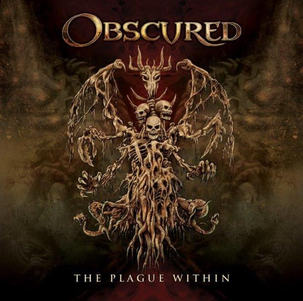 OBSCURED The Plague Within COVER front bandcamp