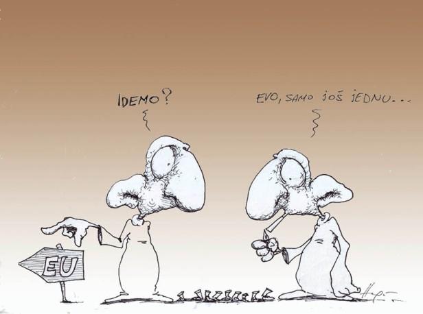 eu-put-strpljenje-karikatura