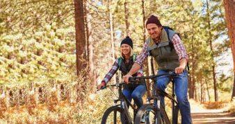 bicikl šuma