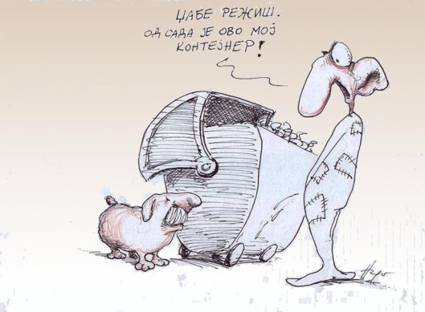 BORBA-KONTEJNER-HUGO-NEMET-DOTKOM-KARIKATURA
